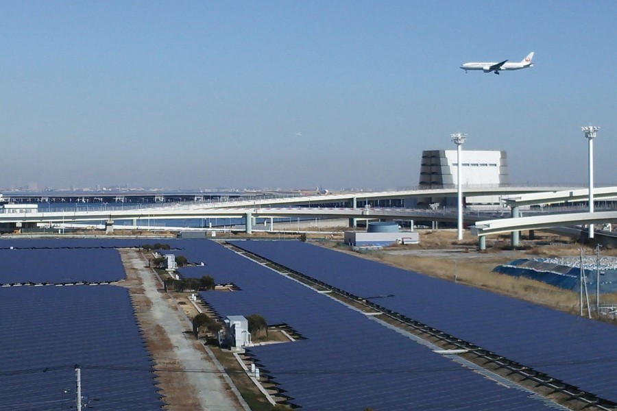가와사키 대규모 태양광 발전소 - 1