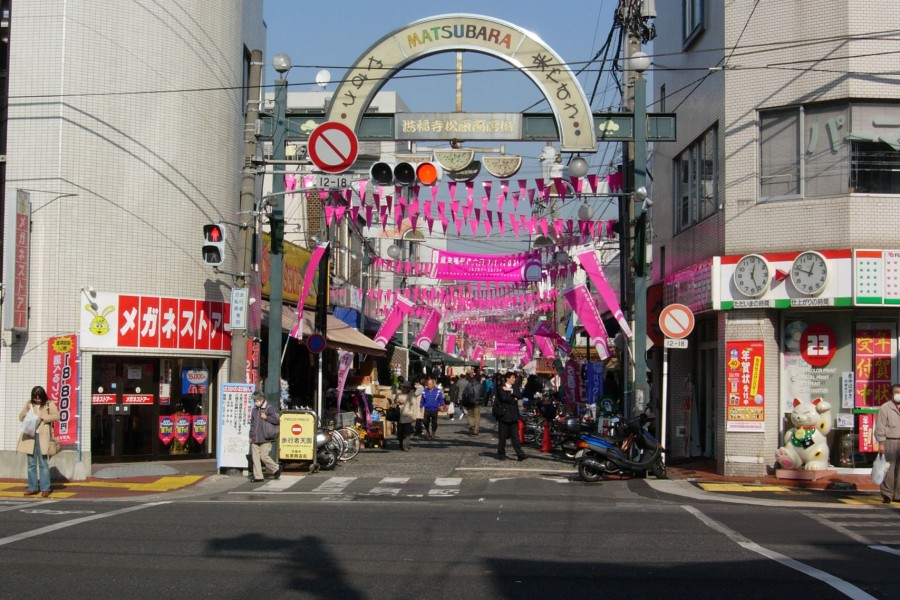 Shotengai (Khu mua sắm) Matsubara  - 1