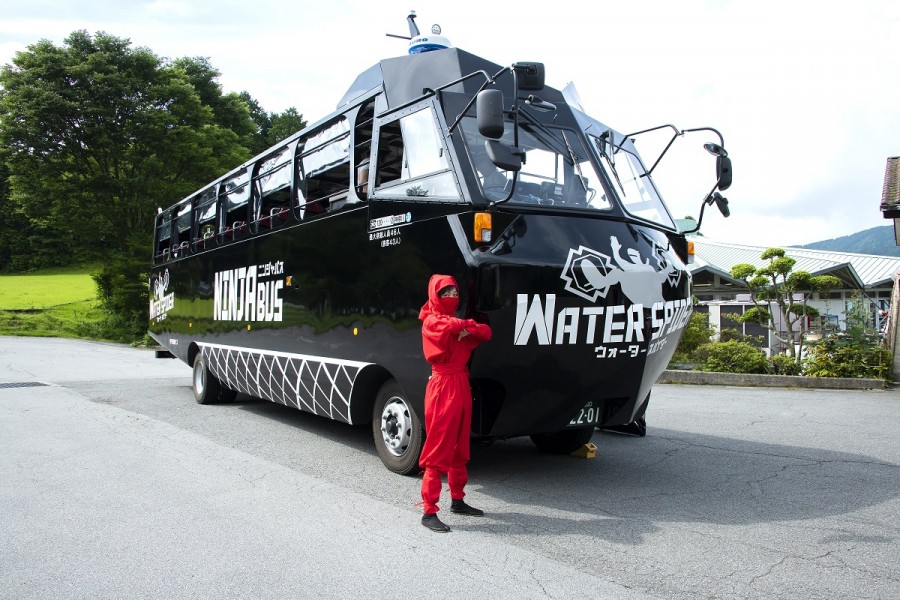 NINJA BUS WATER SPIDER - 3