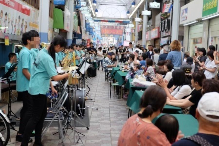 Yokohamabashi Shopping arcade