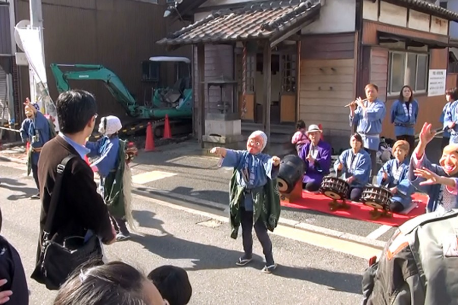 生麦旧东海道祭与康吉鳗 - 1