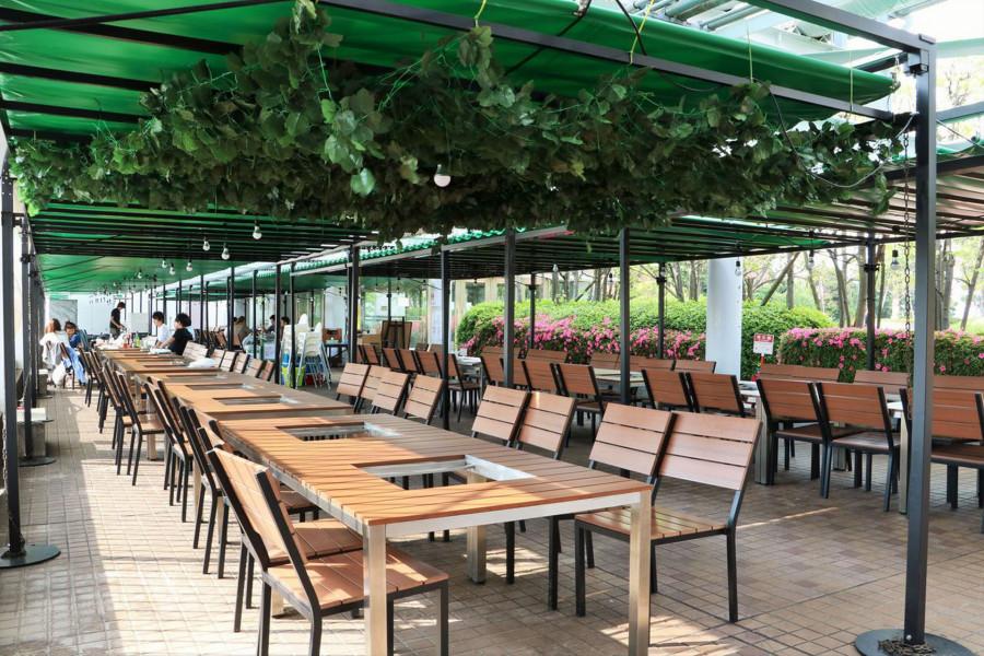Rooftop Beer Garden, BBQ (Dejikyu BBQ Terrace, Yokohama Joinus Store) - 1