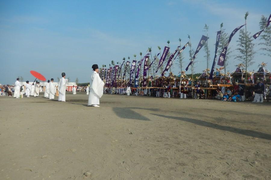 지가사키 해안 하마오리 축제 - 2