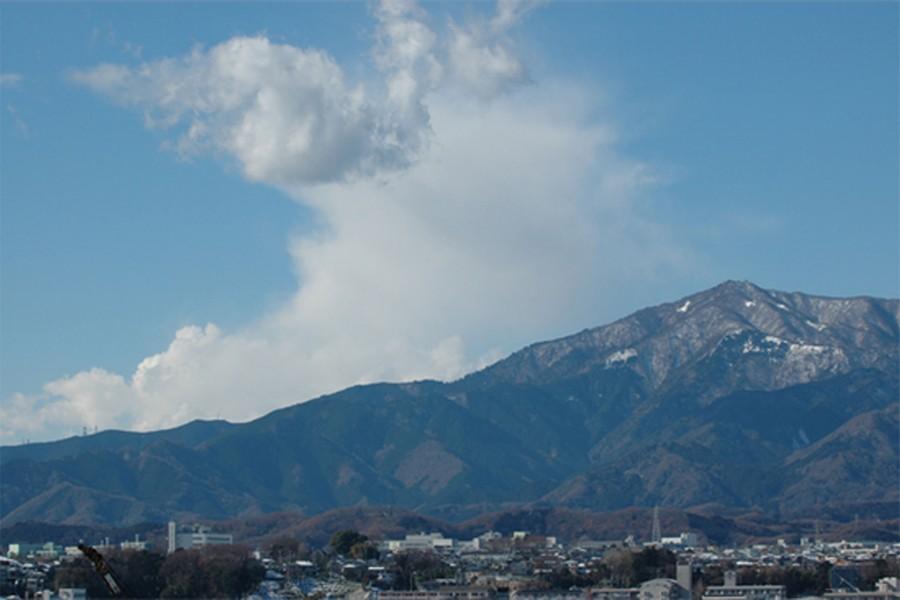 厚木市相川地区(田園風景・富士山と大山)
