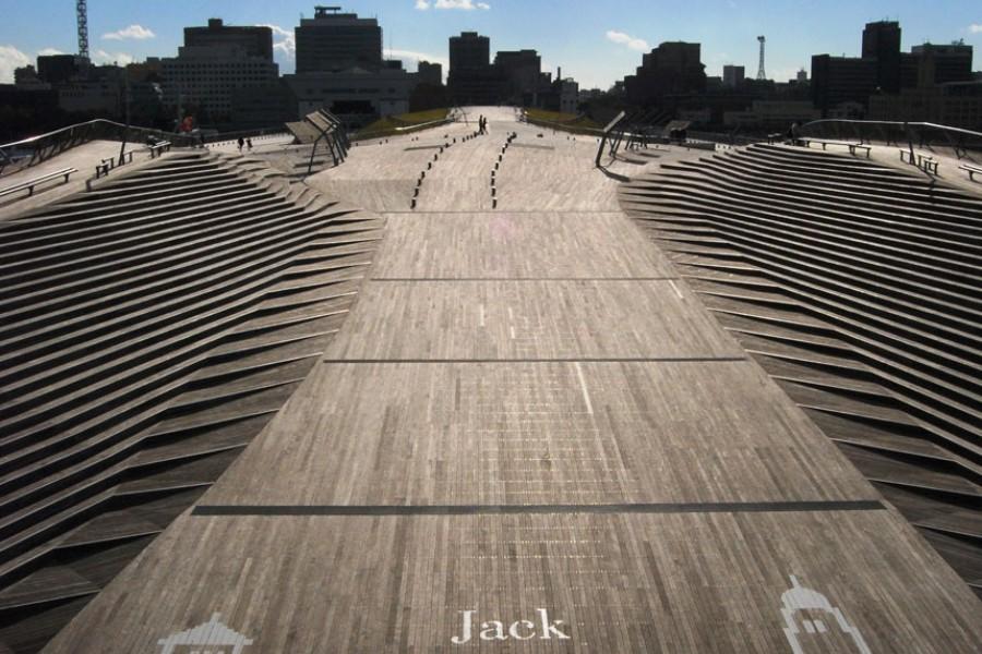 从横滨大栈桥国际客船总站看到的风景 - 1