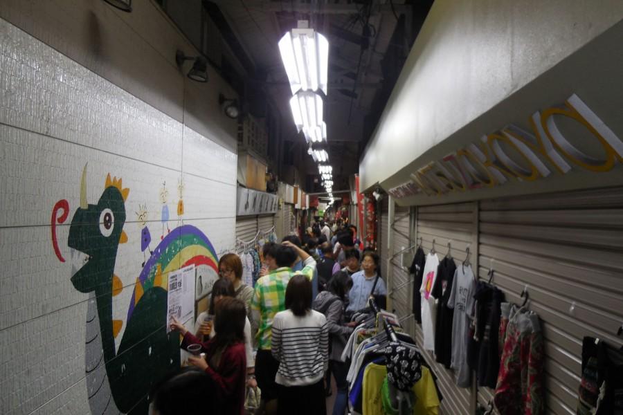 Rokkakubashi Shotengai (shopping area) - 1