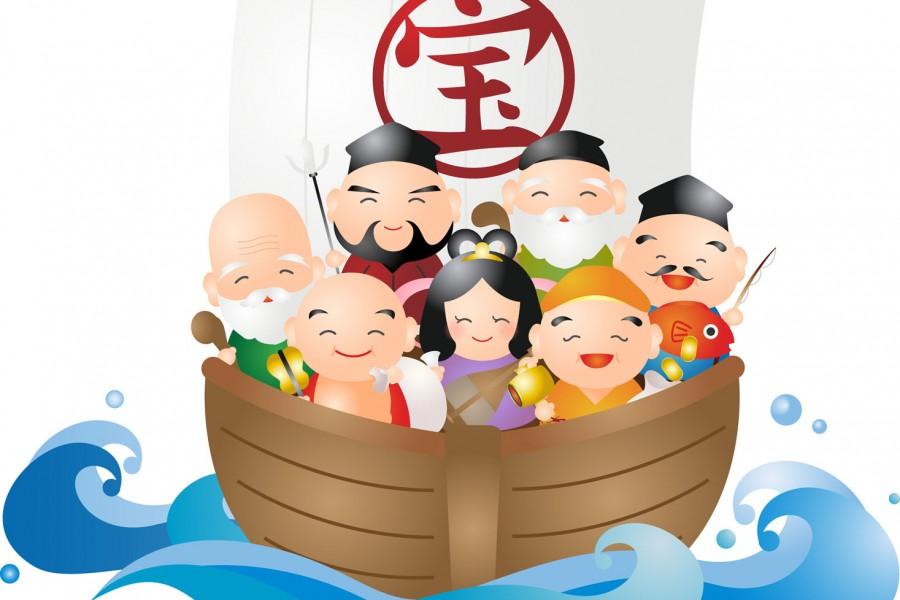 Seven Lucky Gods Meguri