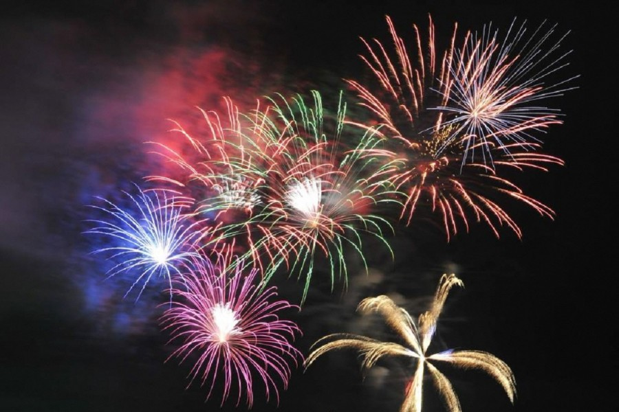 오다와라 사카와 강 불꽃놀이 축제 - 2