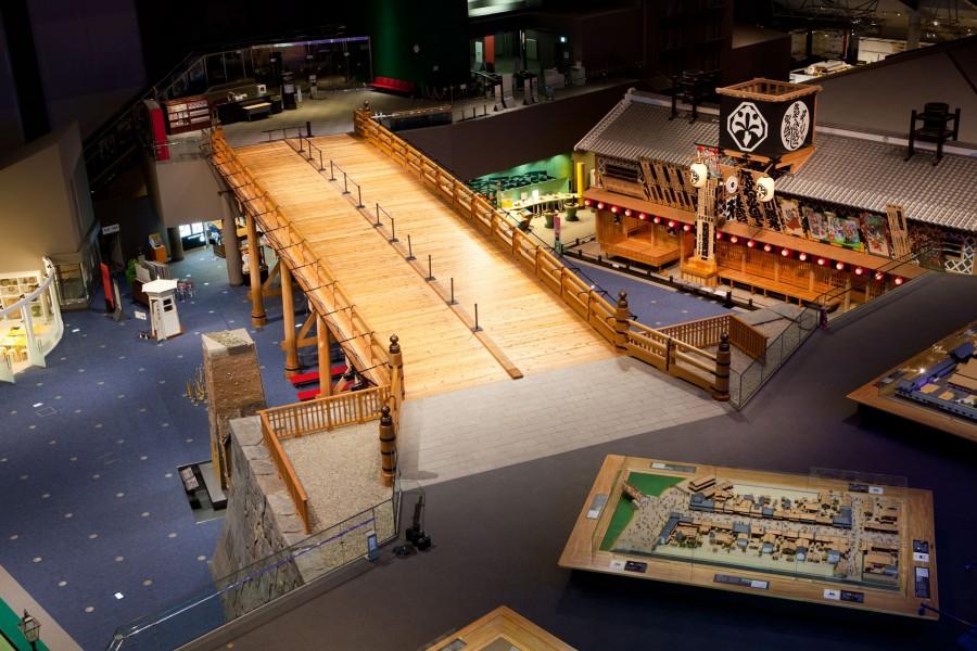 江户东京博物馆博物馆2017年10月1日至2018年3月31日因装修闭馆 - 1