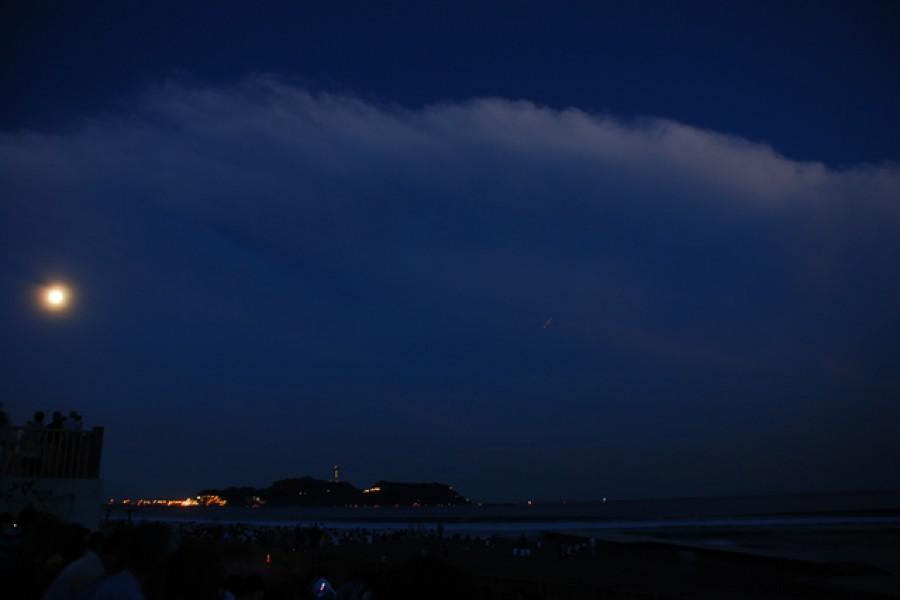 에노시마「일본 백명월」감상지