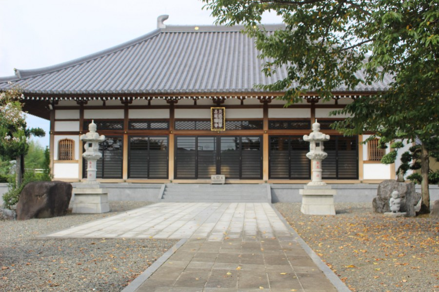 Di tích thành cổ Sanada, chùa Tentoku  - 1