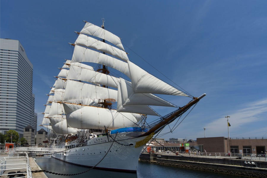 Nippon Maru Memorial Park (Sail Training Ship Nippon Maru / Yokohama Port Museum) - 1