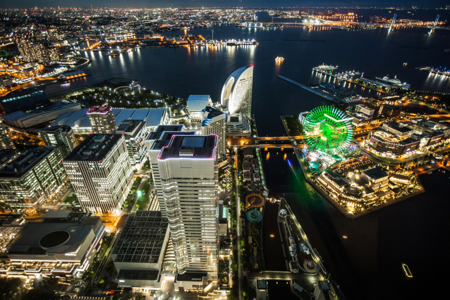Yokohama Landmark Tower 69th Observation Floor Sky Garden - 3