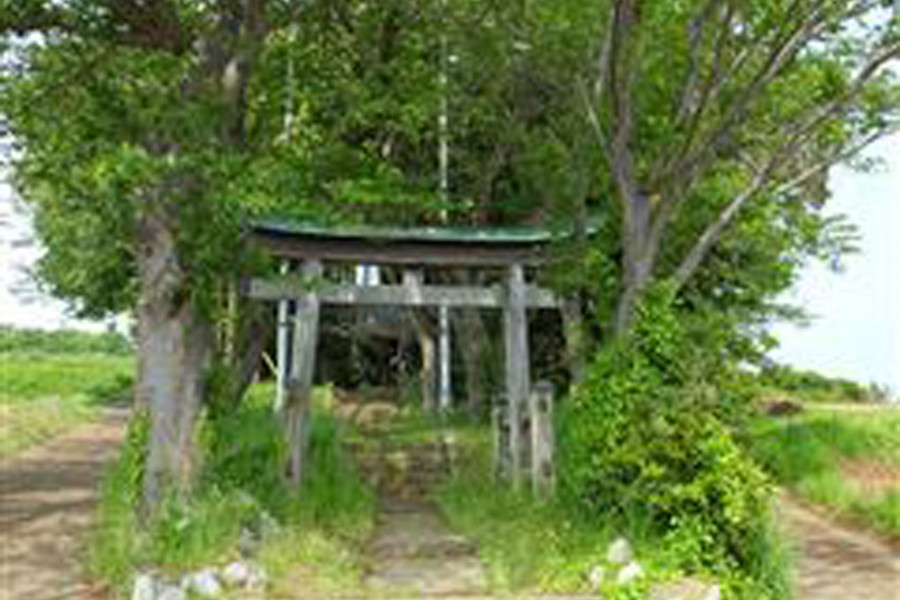 八釼神社・「かんまん不動」