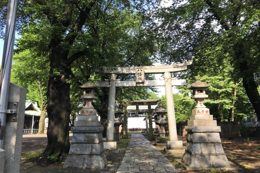 Wakamiya Hachimangu Schrein - 3