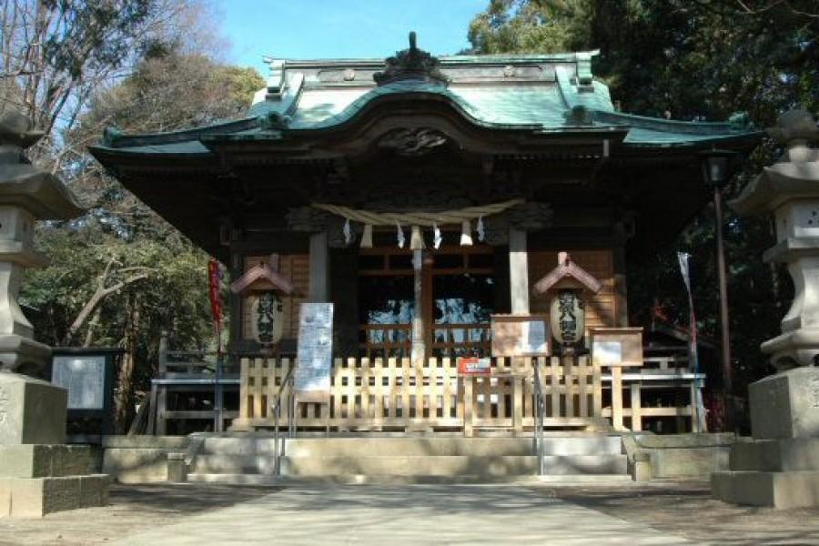 Le sanctuaire Tsurumin hachiman gu