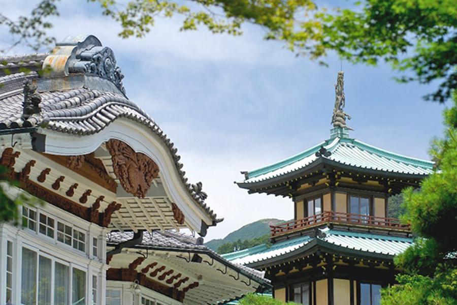 富士屋飯店 展示用餐盤 - 1