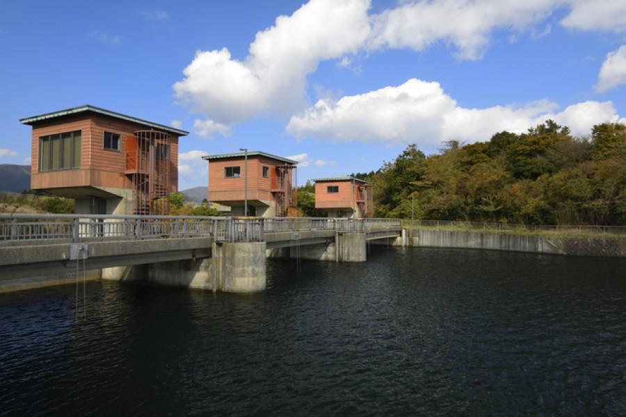 Kojiri Suimon (Water gate)