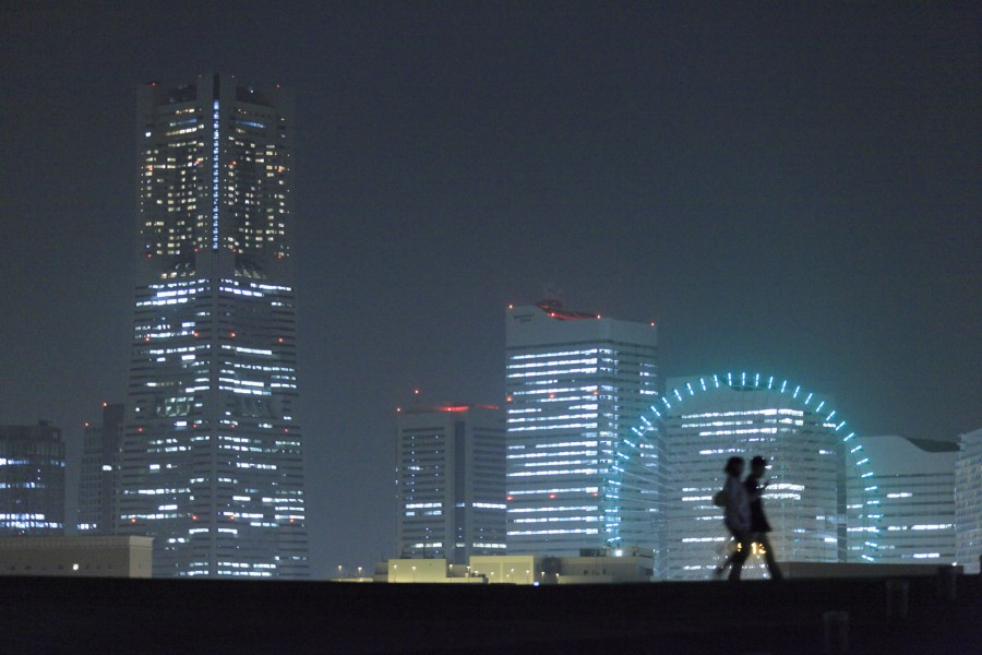 从横滨大栈桥国际客船总站看到的风景 - 2