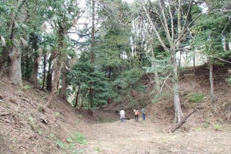 Grand fossé sec de Komine Goshouno-dai