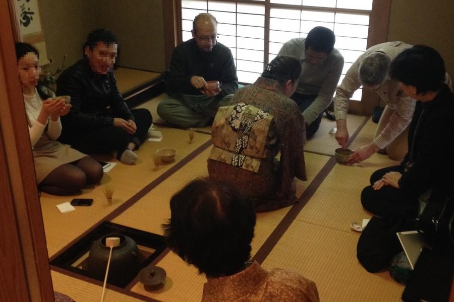 Teezeremonie Tsunakawa