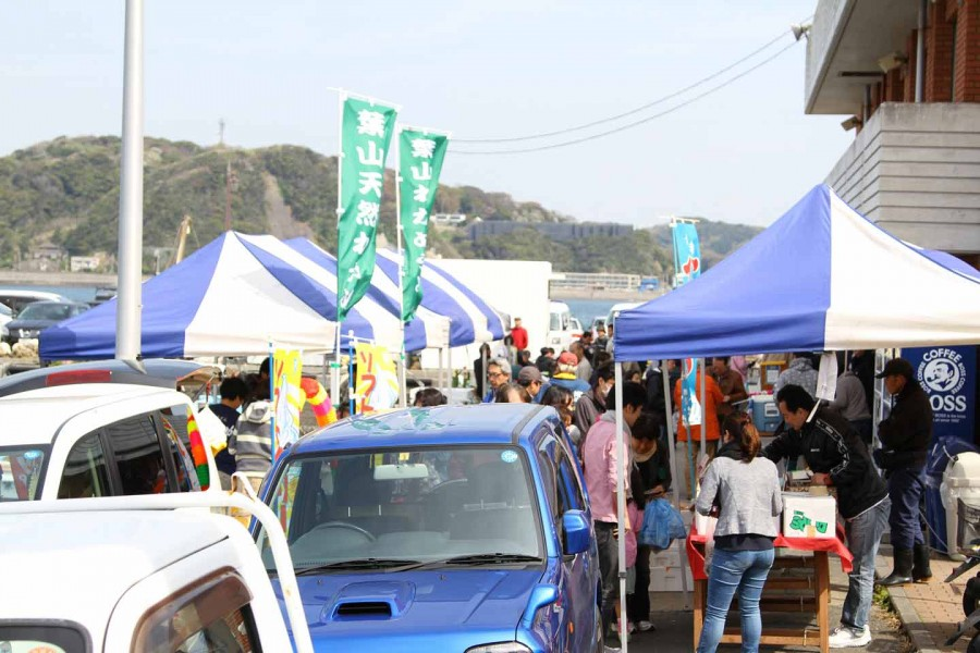 Chợ buổi sáng chủ nhật Hayama