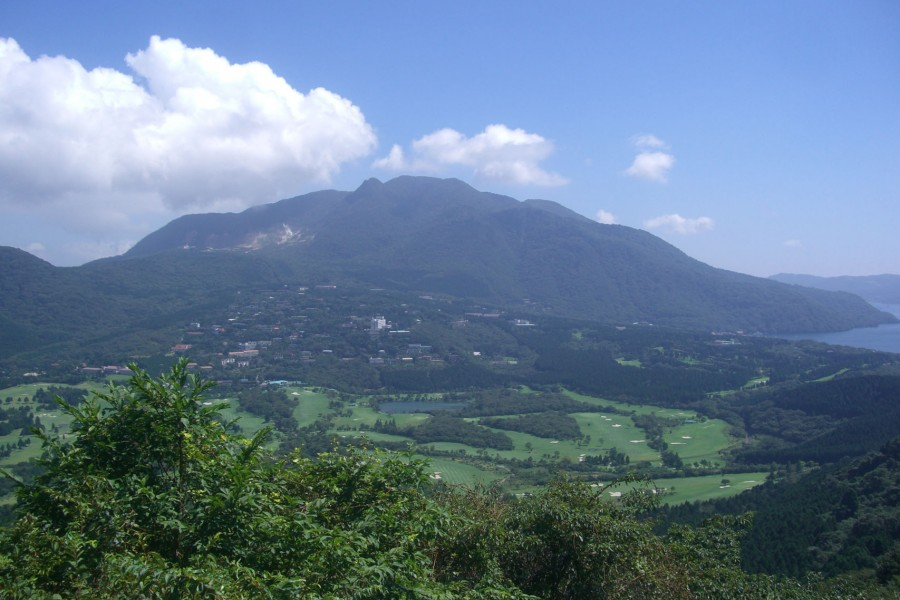Peak of Mount Kamiyama - 1