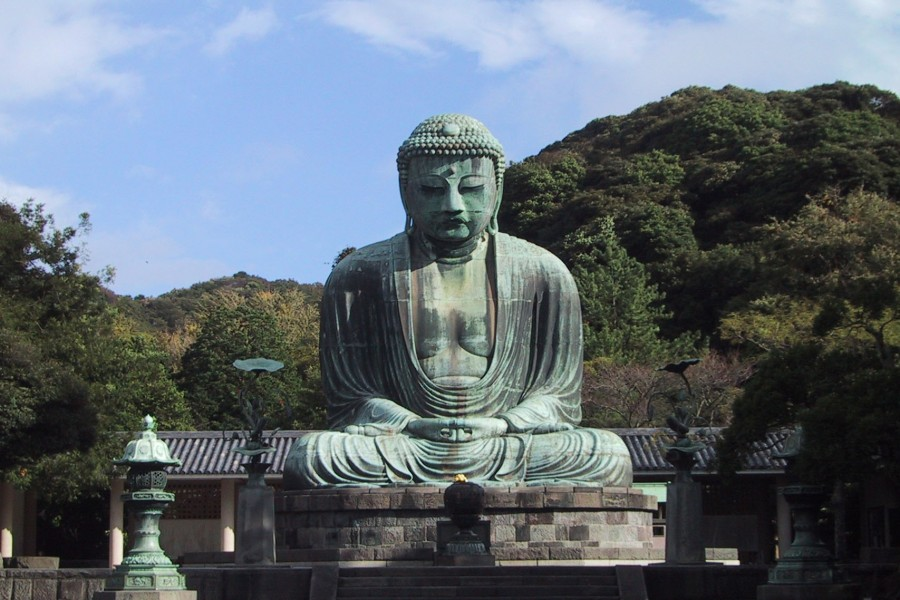Kotoku-in / Great Buddha of Kamakura - 1