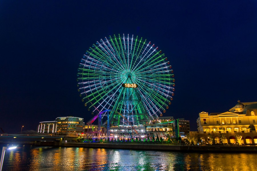 Yokohama Cosmoworld(Illuminations) - 1