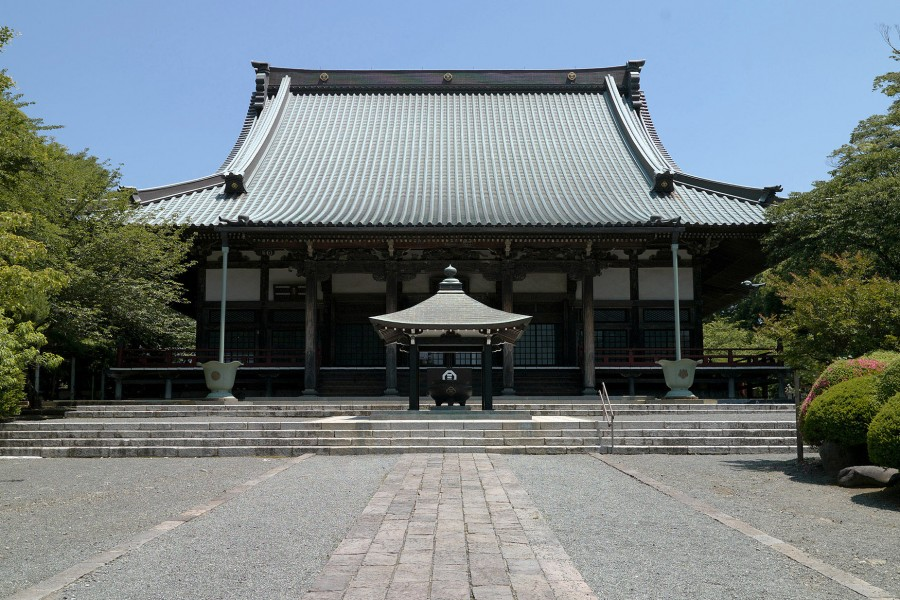 Le temple Yugyō-ji Temple et sa brocante  (Oicho, Fujisawa Yugyō-ji Temple Antique Flea Market) - 2