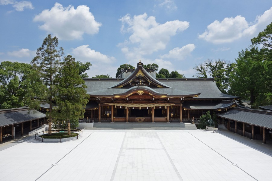 Samukawa Shrine - 1