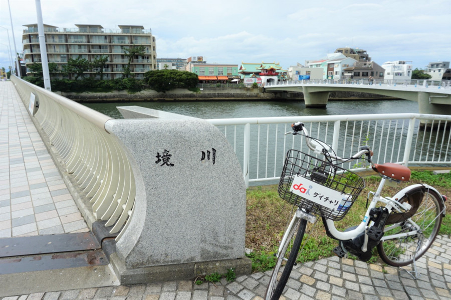 Sakaigawa cycling road - 1