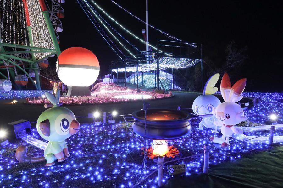 Trình diễn ánh sáng Sagamiko  - 4