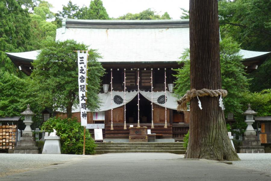 三之宮比々多神社