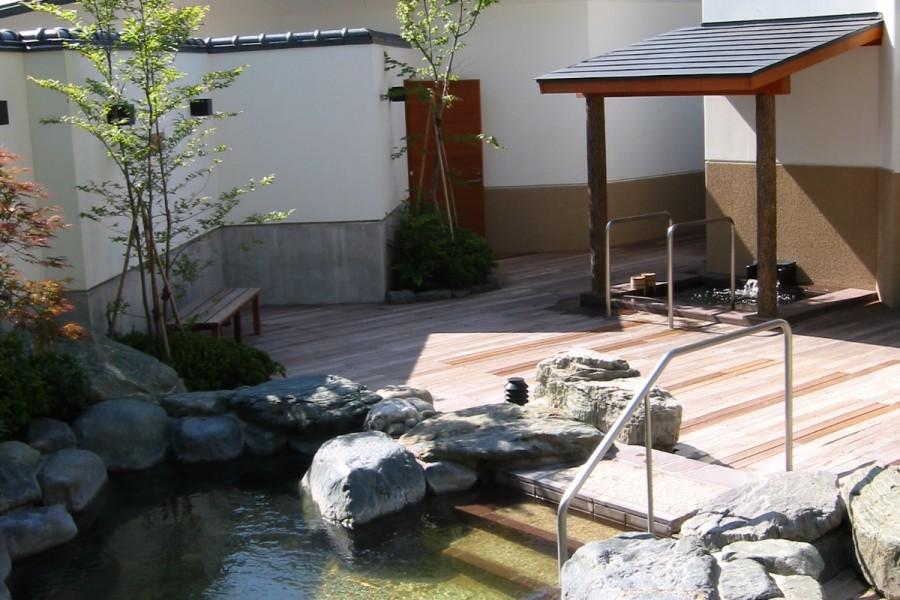 Suối nước nóng tự nhiên Noborigumo-Sano