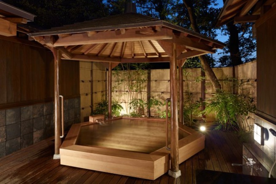 Tsurumaki Onsen (Hot Spring) Motoyu Jinya